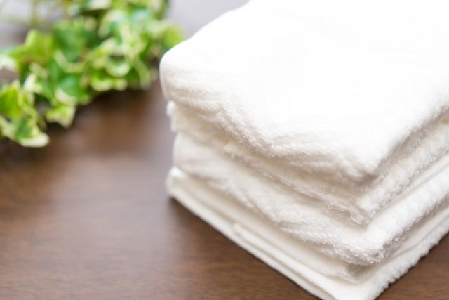 タオルを使ったタメを作る練習