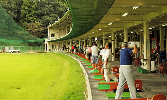 ゴルフ練習場でのポイント