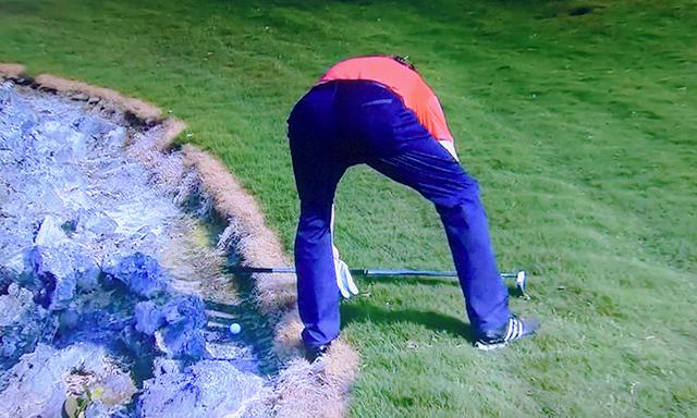ウォーターハザードのゴルフルール
