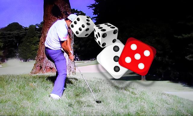 ゴルフは確率のゲームだ
