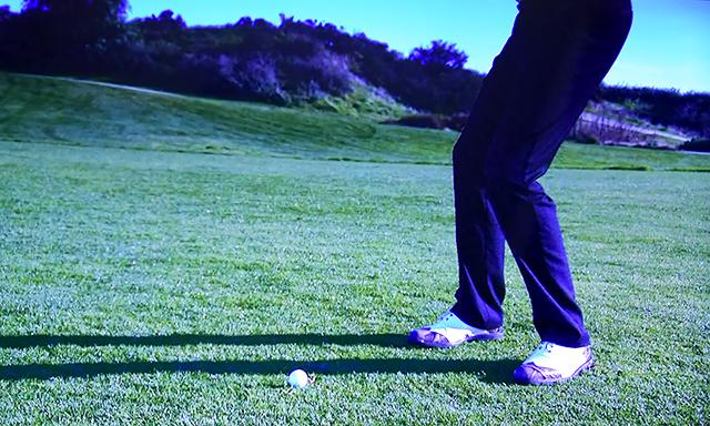 ゴルフボールと体の距離はどのくらいが適正なの?