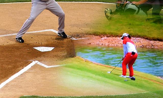 ゴルフボールを置く場所にはストライクゾーンがある